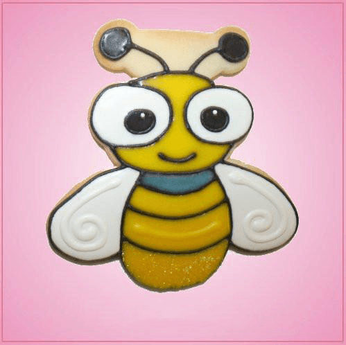 Pink Leonard Lightning Bug Cookie Cutter