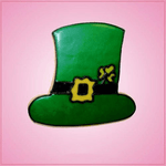 Pink Leprechaun Hat Cookie Cutter