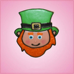 Pink Liam Leprechaun Cookie Cutter