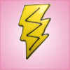 Pink Lightning Bolt Cookie Cutter