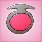 Pink Makeup Single Compact Cookie Cutter