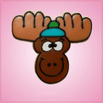 Pink Marcus Moose Cookie Cutter