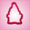 Pink Michael Penguin Cookie Cutter