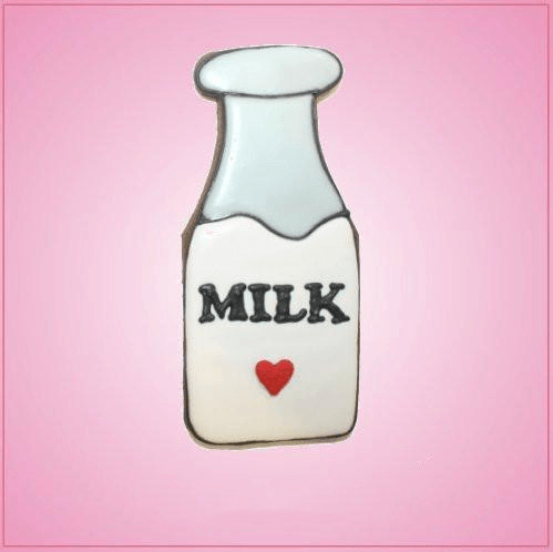 Pink Milk Bottle Cookie Cutter