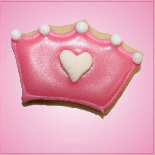 Pink Mini Crown Cookie Cutter