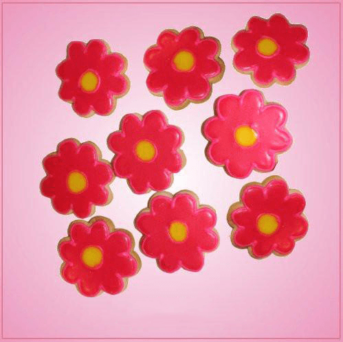 Pink Mini Flower Cookie Cutter