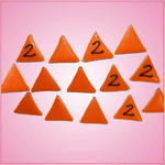 Pink Mini Triangle Cookie Cutter