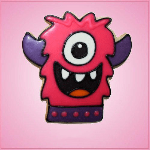 Pink Monster Tilly Cookie Cutter