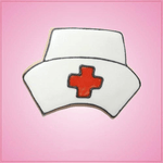 Pink Nurse Hat Cookie Cutter