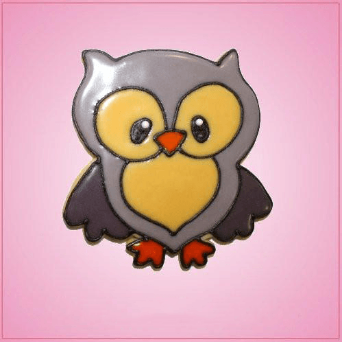 Pink Omar Owl Cookie Cutter