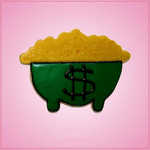 Pink Pot Of Gold Cookie Cutter