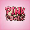 Pink Power Word Cookie Cutter