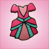 Pink Princess Dress Cookie Cutter