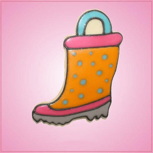 Pink Rain Boot Cookie Cutter