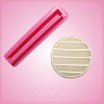 Pink Rectangle Stripe Cookie Cutter