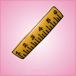Pink Ruler Cookie Cutter