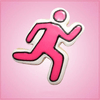 Pink Runner Cookie Cutter