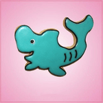 Pink Sadie Shark Cookie Cutter