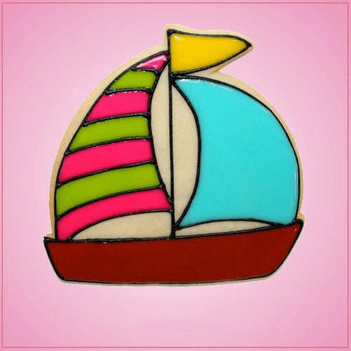 Pink Sailboat Cookie Cutter