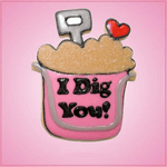 Pink Sand Bucket Cookie Cutter