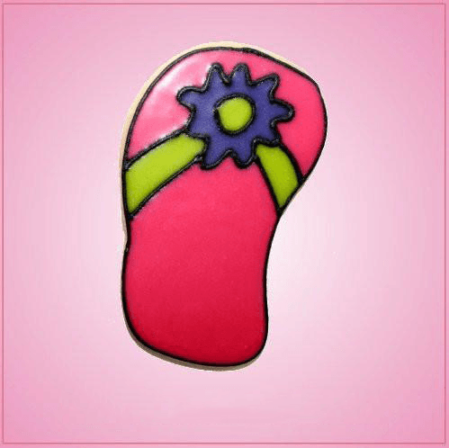 Pink Sandal Cookie Cutter