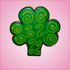 Pink Shamrock Cookie Cutter