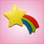 Pink Shooting Star Cookie Cutter