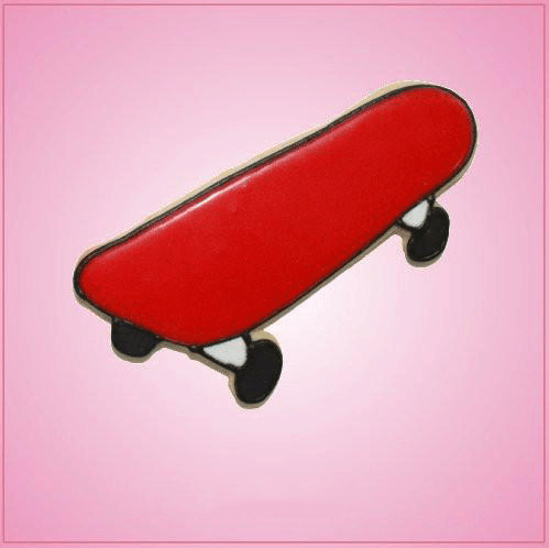 Pink Skateboard Cookie Cutter