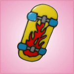 Pink Skateboard Underneath Cookie Cutter