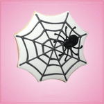 Pink Spider Web Cookie Cutter