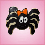 Pink Squiggley Spider Girl Cookie Cutter