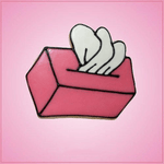 Pink Tissue Box Cookie Cutter