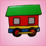 Pink Train Caboose Cookie Cutter