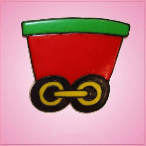 Pink Train Middle Section Cookie Cutter