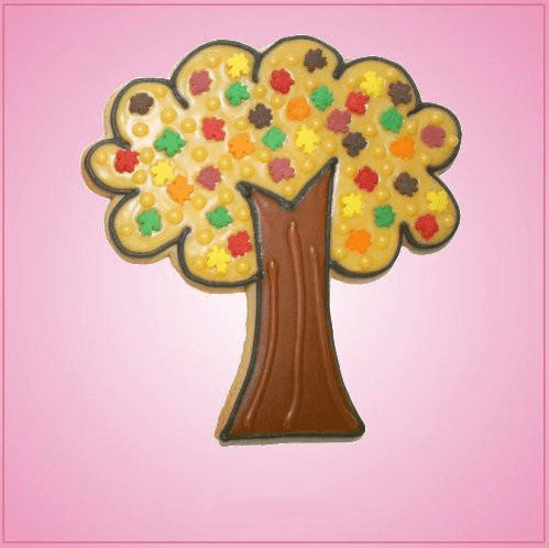 Pink Tree Cookie Cutter