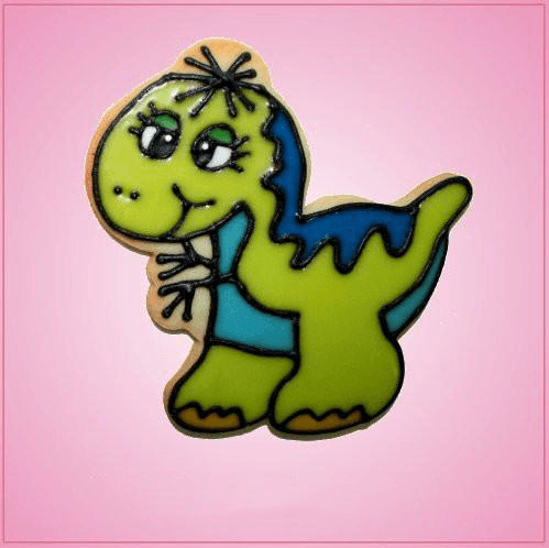 Pink Tyrannosaurus Rex Whimsical Cookie Cutter