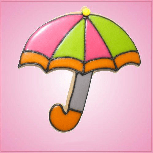 Pink Umbrella Cookie Cutter