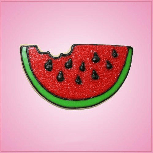 Pink Watermelon Slice With Bite Cookie Cutter