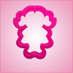 Pink Wilma Girl Cookie Cutter