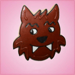 Pink Wolfie Cookie Cutter