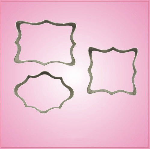 Mini Plaque Cookie Cutter Set Cheap Cookie Cutters