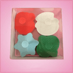 Plunger Style Christmas Cookie Cutter Set