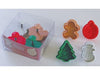 Plunger Style Christmas Cookie Cutter Set 2
