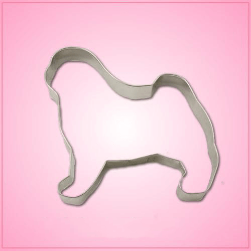 Pug Cookie Cutter