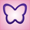 Purple Butterfly Cookie Cutter