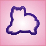 Purple Cat Cookie Cutter