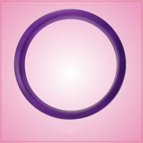 Purple Circle Cookie Cutter