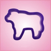 Purple Cow Cookie Cutter