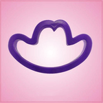 Purple Cowboy Hat Cookie Cutter