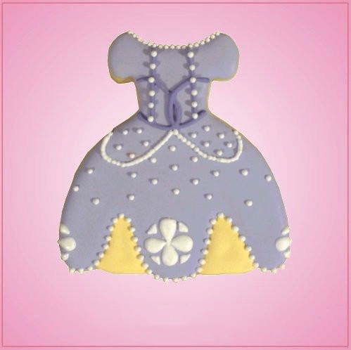 Purple Dress Cookie Cutter